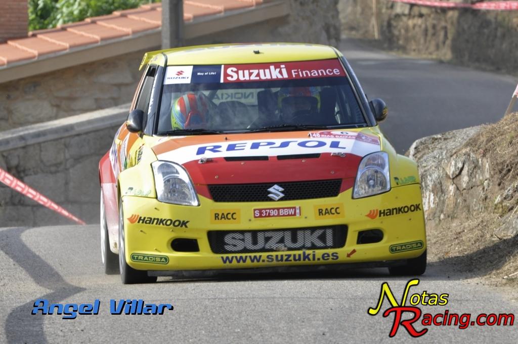 Suzuki Swifth S1600 - Gorka Antxustegui y Gabriel Suárez