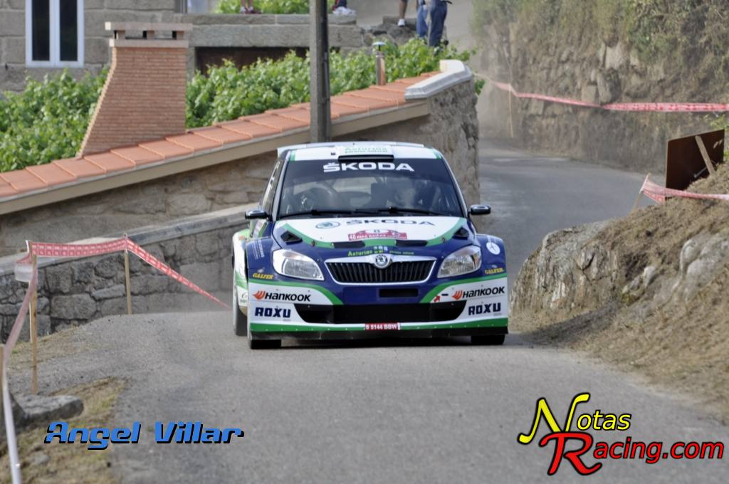 Skoda Fabia S2000 - Alberto Hevia y Alberto Iglesias