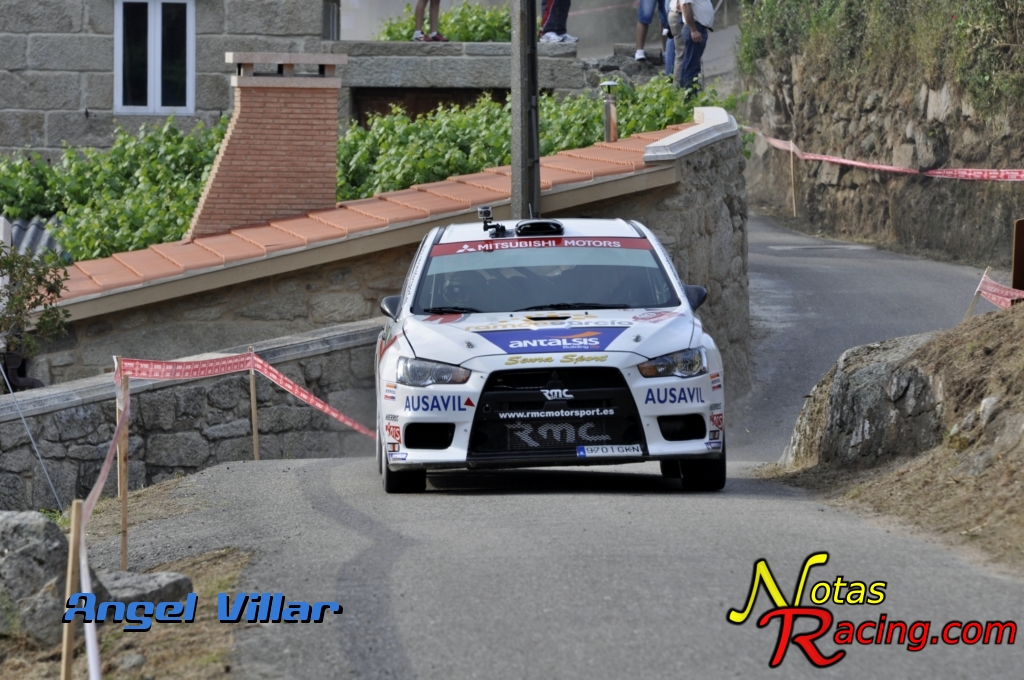 Mitsubishi Lancer Evo X - Victor Senra y David Vázquez