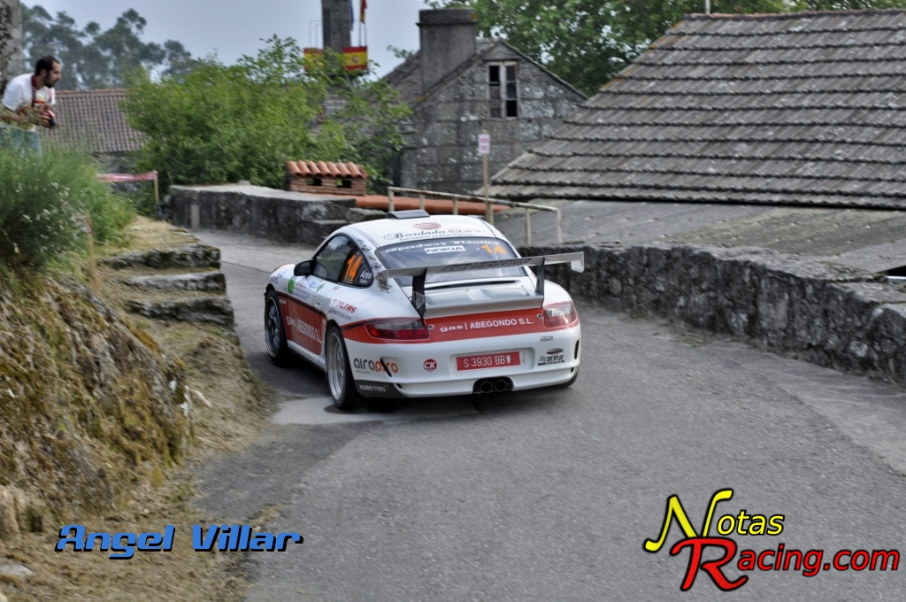 Porsche 911 GT3 CUP R- Ivan Ares y Jose Pintor