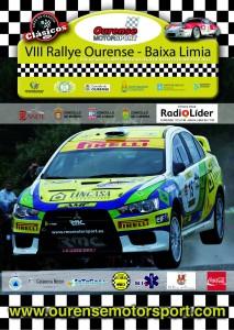 cartel VIII Rallye de Ourense Baixa Limia 2011