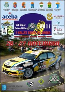 Cartel I rallye Serra Da groba 2011