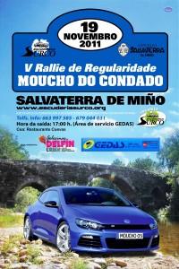 V rallye Moucho do condado 2011