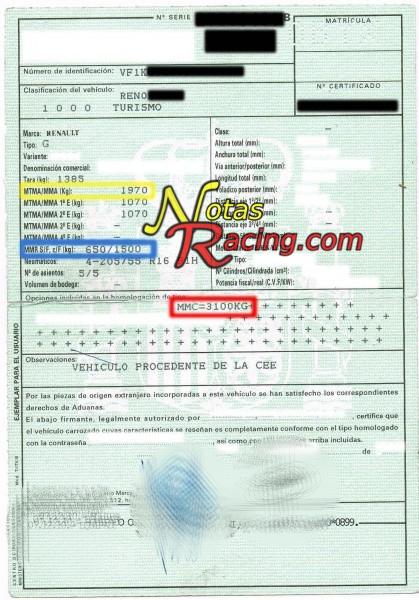 Documentación Renault MMC
