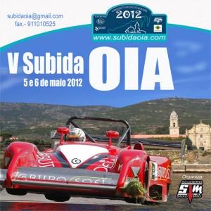 Cartel V subida a Santa maría de Oia 2012