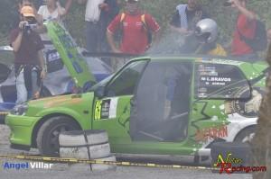 XXXIX Subida a Chantada - José Luis Vázquez -  Peugeot 106