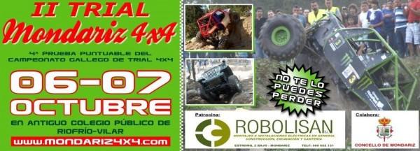 Cartel II trial 4x4 Mondariz 2012