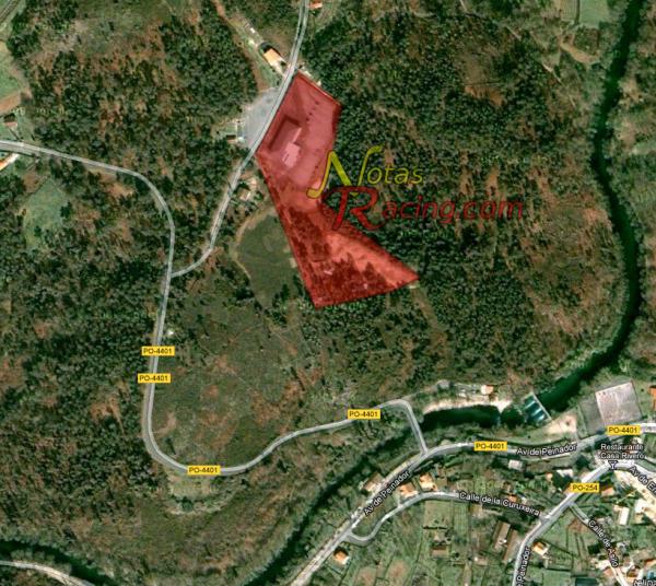 Zona habilitada para el trial 4x4 Mondariz 2012