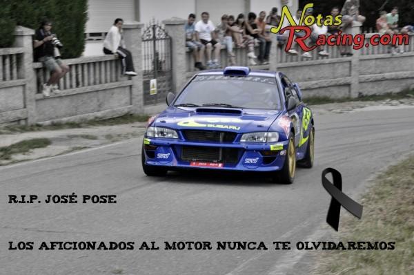 Muere Jose Manuel Pose Piloto Gallego de Rallyes y Montaña