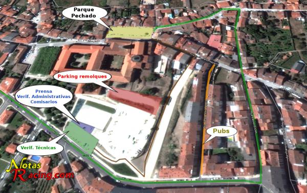 Parque cerrado y verificaciones de la VIII Subida a Furriolo 2013