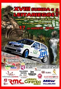 Cartel XVIII Subida a Leitariegos 2013