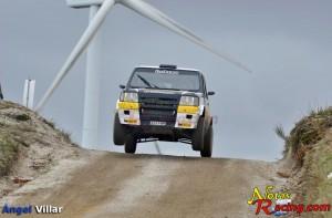 Rallye Serras de Fafe 2014 Panda S1000 salto