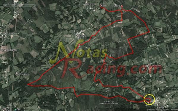 Tramo y accesos I RallyeMix de Xallas