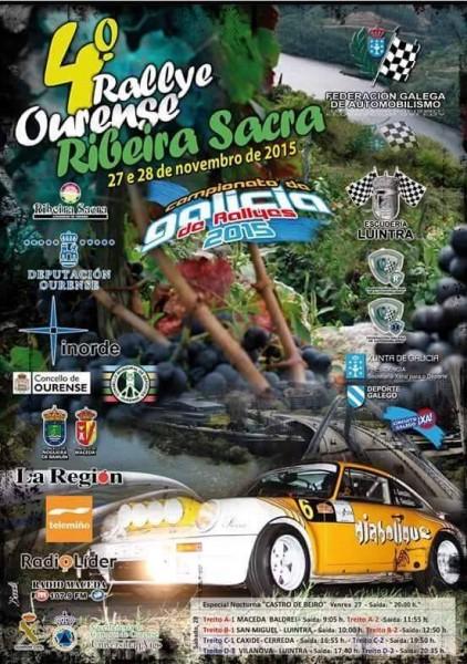IV Rallye Ribeira Sacra 2015