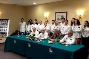 Rueda de prensa, anulación del Rallye Rias Baixas 2016