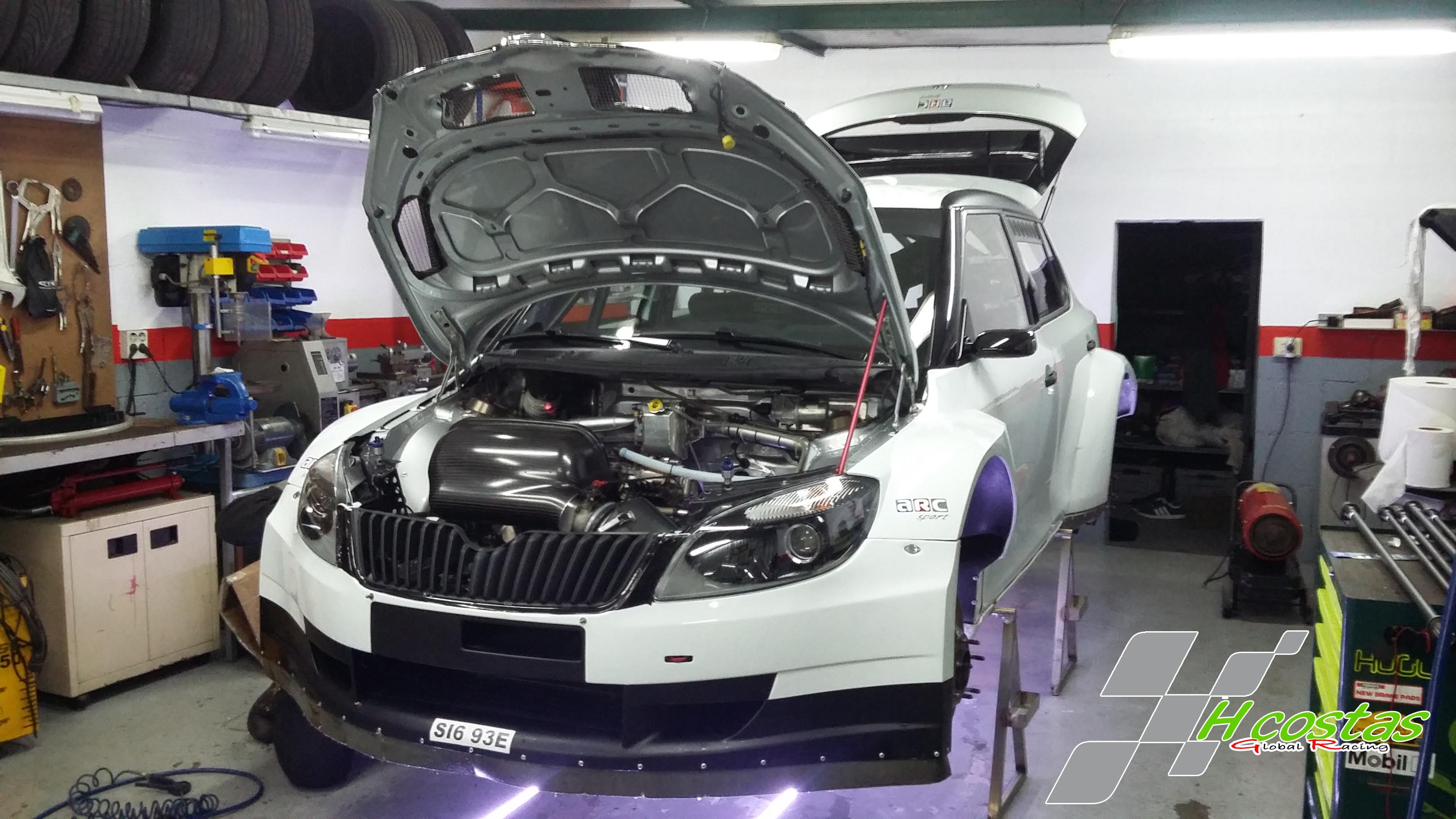 Škoda Fabia S2.000 HCostas