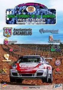 Cartel I RallyeSprint de la Mencía
